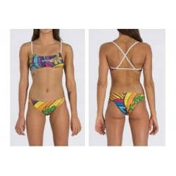 AKRON COSTUME BIKINI SPAIN FLOWER 2 DONNA