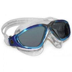 AQUASPHERE OCCHIALINO NUOTO VISTA TECHNOLOGY LENTE SCURA